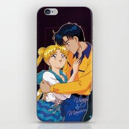 Usagi and Mamoru iPhone Skin