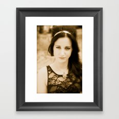 Agnes Framed Art Print
