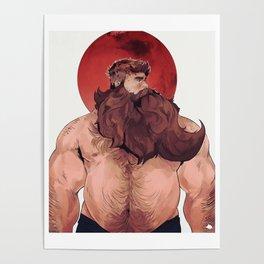 Martian Bear Poster