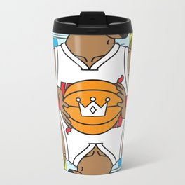 King of South Beach Metal Travel Mug