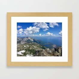 Lake Tahoe Framed Art Print