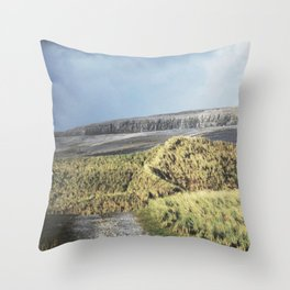 Tuft and Stone - Landscape Photography Throw Pillow