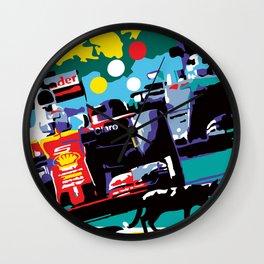 The Black Cat - Le Chat noir Wall Clock