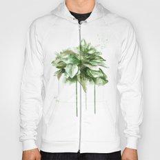 green plant Hoody