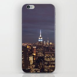 New York City Empire State Building at Night I iPhone Skin