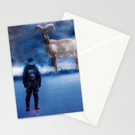 Big Deer Hunt Stationery Cards