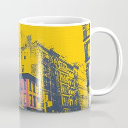 Tribeca, NYC. Corner of Church & White. Coffee Mug