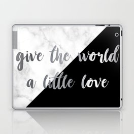 give the world a little love Laptop & iPad Skin