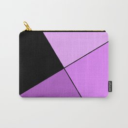 Purple home design Carry-All Pouch