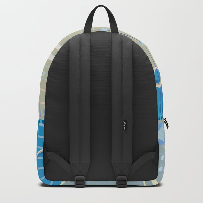 financial background Backpack