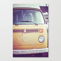 vw Canvas Prints featuring vw by shannonblue