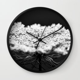 Her Majesty // Queen Anne's Lace Wall Clock