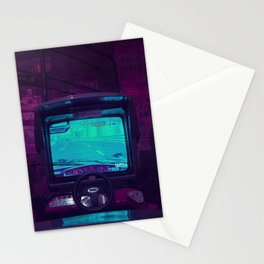 Tokyo Nights / Retro Arcade / Liam Wong Stationery Cards