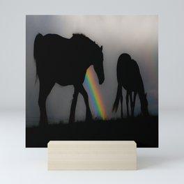Silhouette of Color Mini Art Print