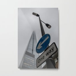 Right Direction Metal Print