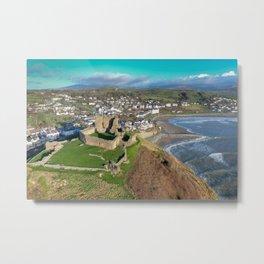 Criccieth Castle Metal Print
