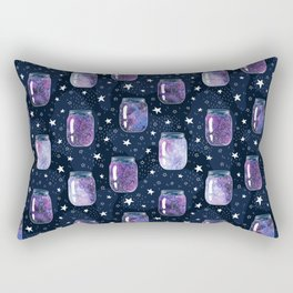 The Universe in glass Rectangular Pillow