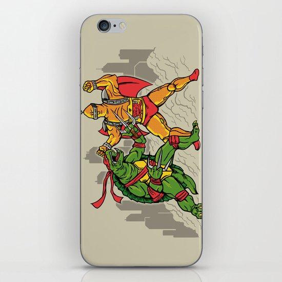 Teenage Mutant Gamera Ninja iPhone & iPod Skin