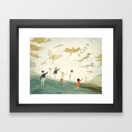 Kites Framed Art Print