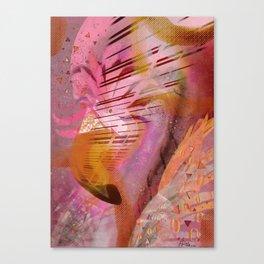 Galaxy Flamingo 2 Canvas Print