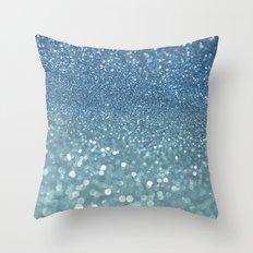 Bubbly Sea Throw Pillow
