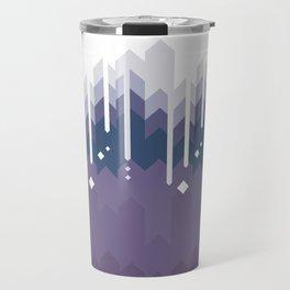 Mountains Abstract Travel Mug