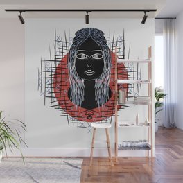 black woman Wall Mural