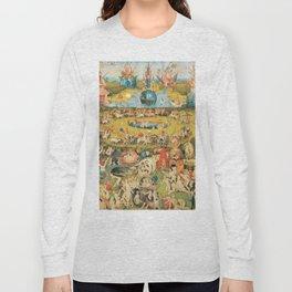 Bosch Garden Of Earthly Delights Long Sleeve T-shirt