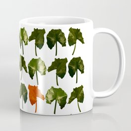 Red Leave Coffee Mug