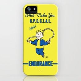 Endurance S.P.E.C.I.A.L. Fallout 4 iPhone Case