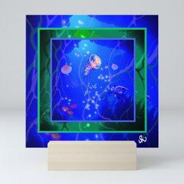 Ocean Depths Mini Art Print