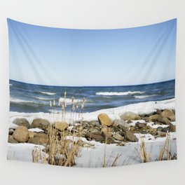 Winter thaw Wall Tapestry