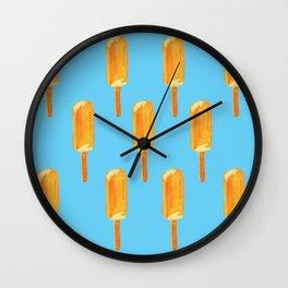 Creamsicle_mtdesigns Wall Clock