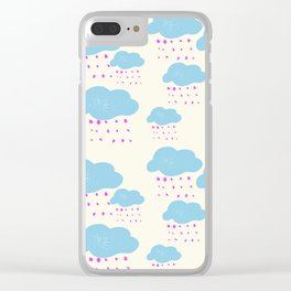 Cloud Formations Clear iPhone Case
