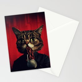 MewOod (single) Stationery Cards