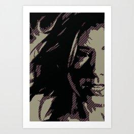 Dark Willow Art Print