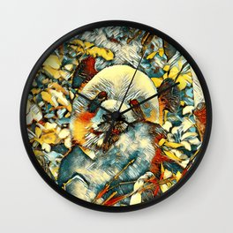 AnimalArt_Panda_20170812_by_JAMColorsSpecial Wall Clock