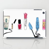 make up iPad Cases featuring Make Up. by Elena O'Neill