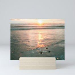 Oceanholic   Santa Teresa Costa Rica Sunset travel photography   Sea vibes Mini Art Print