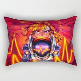 DJ Sona - Red Rectangular Pillow