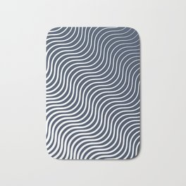 Whiskers Navy #583 Bath Mat