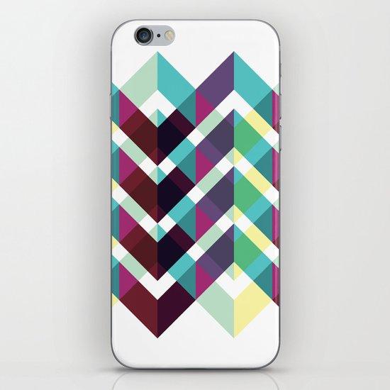 Zig Zag Pattern iPhone & iPod Skin