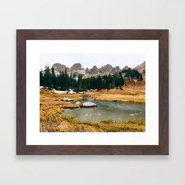 Gore Range – Rocky Mountains Framed Art Print