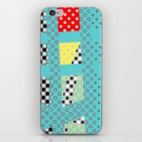 dots iPhone & iPod Skins featuring DOTS by  ECOLARTE