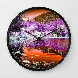 October Noon Wall Clock