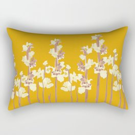 Marshmallows in Gold Rectangular Pillow