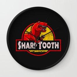 Sharp Tooth Wall Clock