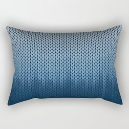 Ombre Knit Rectangular Pillow
