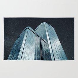 City of glass (1983) Rug
