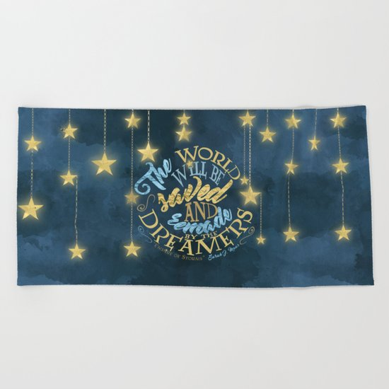 Empire of Storms - Dreamers Beach Towel